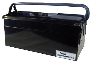 404mm Cantilever Tool Box Black Finish Tradies Storage Toolies Sandgate Newcastle Area Preview