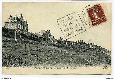 CPA-Carte postale- France -Villers-sur-Mer - Villas sur la Falaise (CP1921)