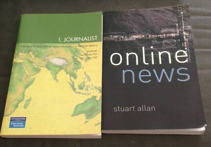 Journalism textbooks for sale Sumner Brisbane South West Preview