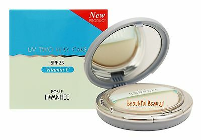 - Rosee Hwanhee UV Two Way Cake Spf 25 with Vitamin C Complex plus Refill & Puff
