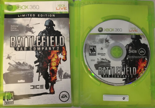 XBOX 360 Lot Of 3 Games Battlefield Bad Company2 Gears Of War 2 Army Of Two - $5.99