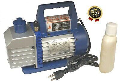 Vacuum Pump 1/3HP - 5 CFM  / AC Air Tool R410a R134 HVAC Refrigerant