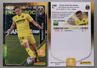 YEREMI PINO #340BIS Card Rookie Villarreal CF MEGACRAKS 20/21 PANINI