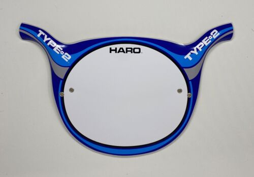 Haro Style Type 2 BMX Number Plates, Type Two Number Plate