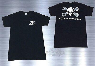 Chevrolet Racing - New Chevy Chevrolet Skull Racing America Vintage Men's T-Shirt
