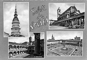 Cartolina-Postcard-saluti-da-Novara-Vedutine