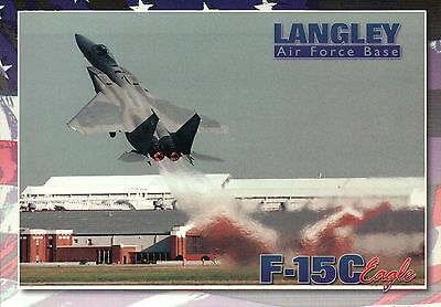 Langley Air Force Base, Virginia, F-15C Eagle Lifts off Langley Field - -