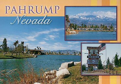 Pahrump Nevada, Terrible's Casino Sign, about 60 miles from Las Vegas - Postcard for sale  Shipping to Canada