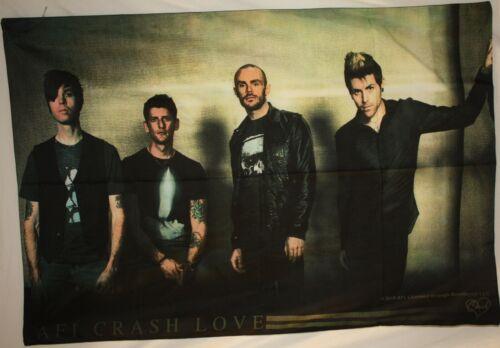 "AFI Crash Love Band Photo Davey Havok Cloth Fabric Poster Flag 30"" x 40"" New"