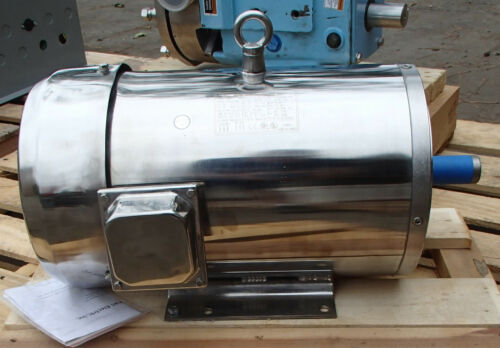 North American Inverter Cuty 10hp Motor SS2151C10M-2 215TC 3525RPM 208-230/460v