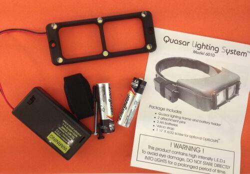 Quasar 6 Lights LED Lighting System for Donegan Optivisor ...