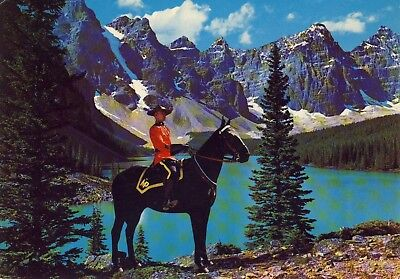 AK A MEMBER OF THE FAMOUS ROYAL CANADIAN MOUNTED POLICE