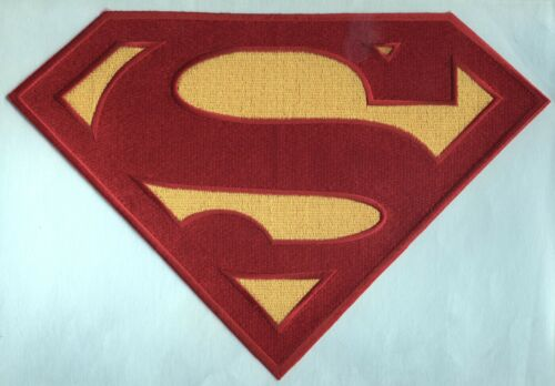 Superman / Superboy  Christopher Gerard Chest Logo Patch - choice of sizes