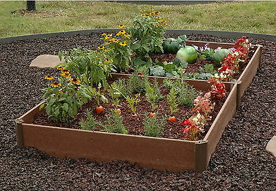 """New 84"""" x 42"""" Raised Garden Bed Planter Kit Gardening Vegetable Gardener Frame"""