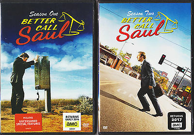 Better Call Saul Season 1   2 Dvd Tv Series New   Special Features