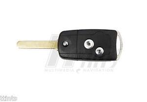 2 Button Remote Flip Folding Key Shell Case Cover For Honda CRV Fit Accord Civic
