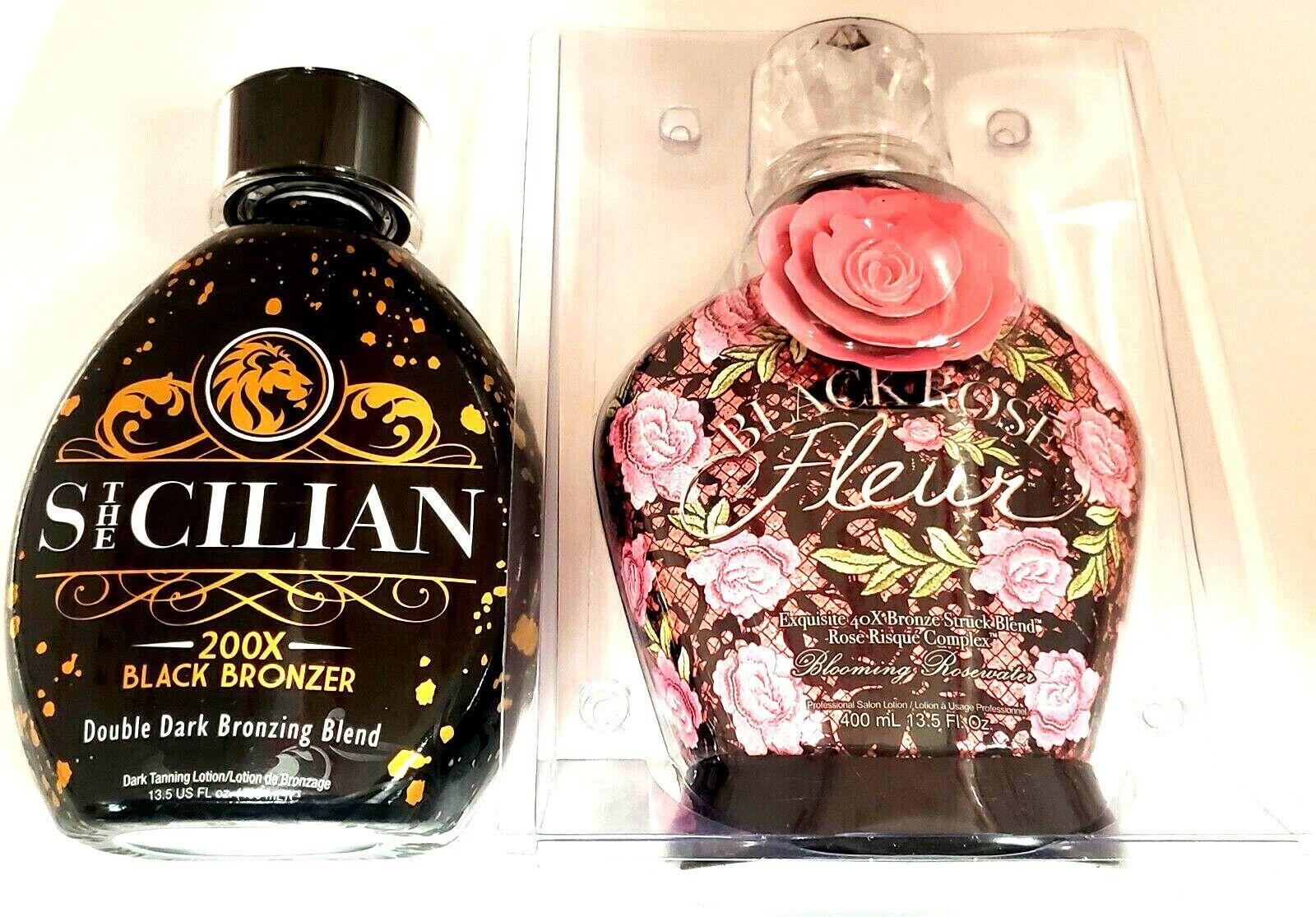 Designer Skin Black Rose Fleur 40X Bronzer Tanning Lotion 13