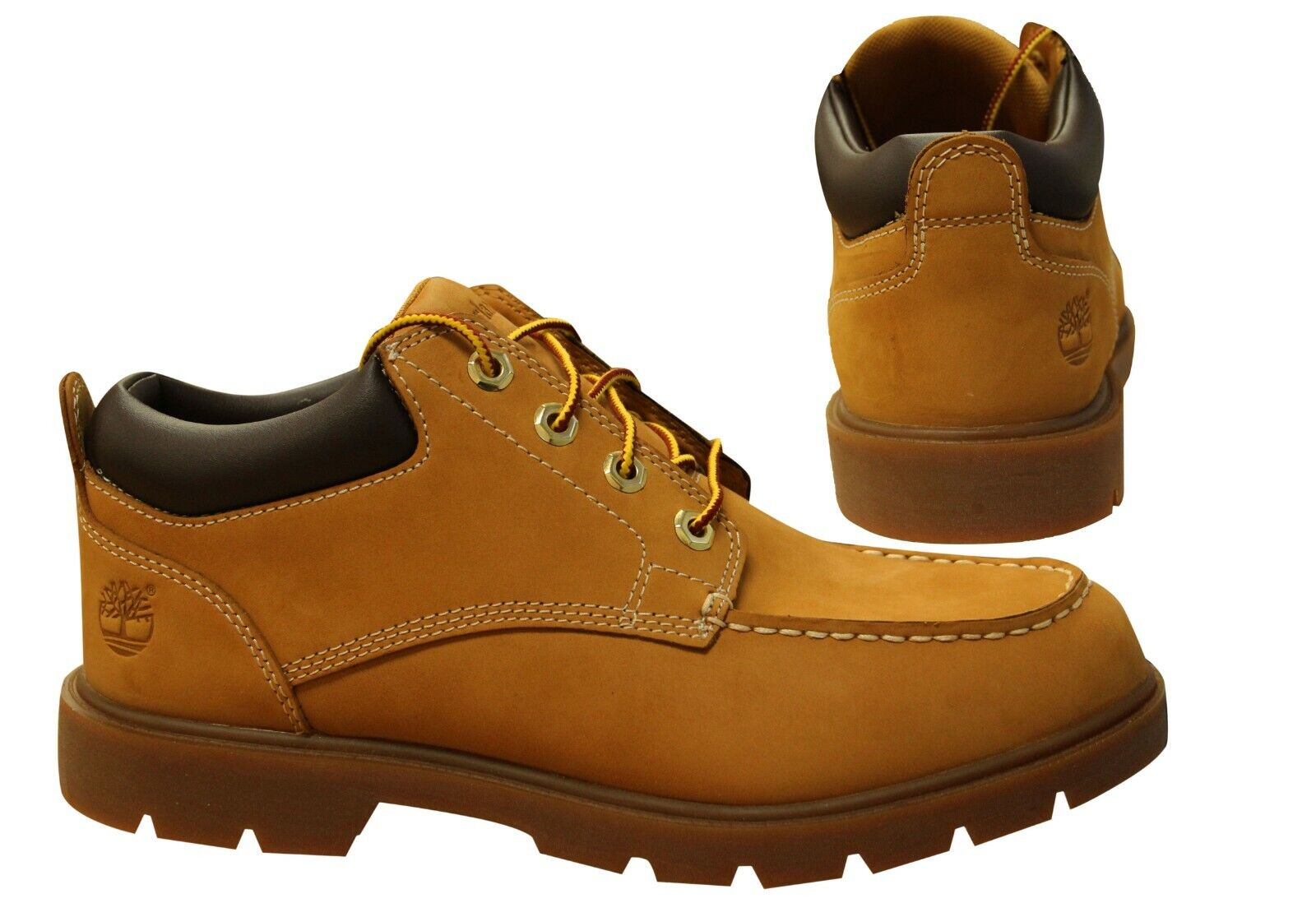 Details about Timberland Basic Mount Oxford Wheat Leather Lace Up Mens Boots 6162B B103C