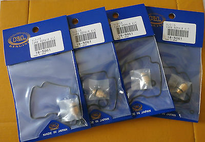 4 NEW SUZUKI  GXS600 GSX600F KATANA  98-06 CARB REPAIR KITS
