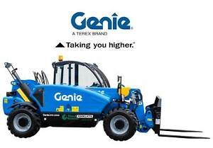Used Genie 2500kg diesel 4x4 rough terrain telehandlers Make an offer Malaga Swan Area Preview