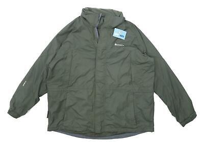 Mountain Warehouse Mens Size 2XL Green Coat