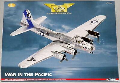 Corgi B-17G Model Airplane 1:72 Diecast AA33307 Sentimental Journey WWII LE 1057