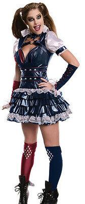 Batman Arkham: Harley Quinn Adult Costume XS Size 0-2 - Harley Quinn Costume Xs
