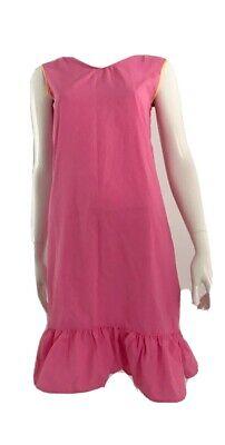 80s Dresses | Casual to Party Dresses Vintage 1980's Pink Mu Mu Dress $26.21 AT vintagedancer.com