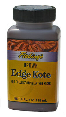 Fiebing's Edge Kote Brown 4 Fl. oz. (Brown Edge)