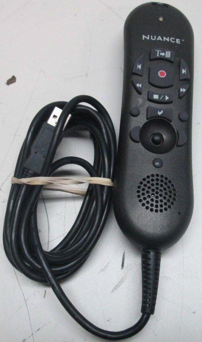 S-50C Nuance Dictaphone 0POWM2N-005 PowerMic II Dictation Microphone