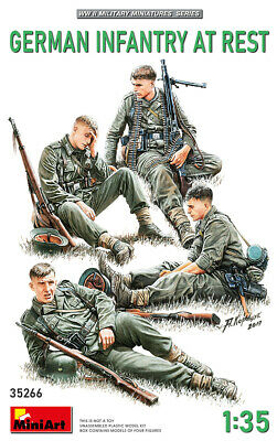 Miniart 35266 - 1:35 German Infantry at Rest - Neu