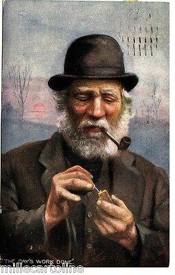 #1922- FUMATORE DI PIPA