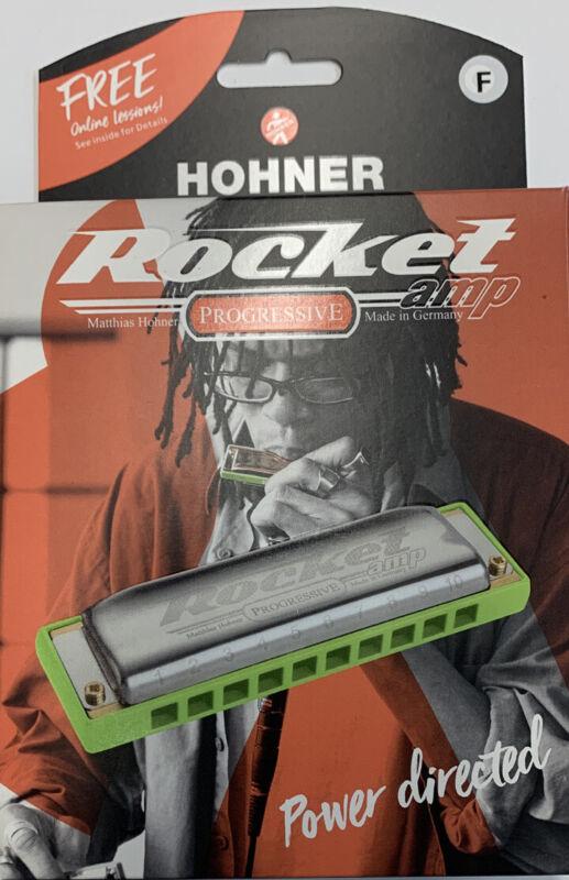 Harmonica Diatonic Hohner Rocket Amp Progressive, Key Of F.