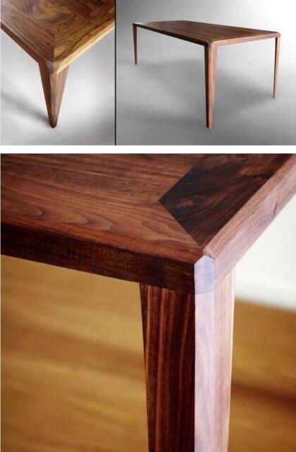 Solid Walnut Timber Coffee Table Scandinavian Danish Coffee Tables
