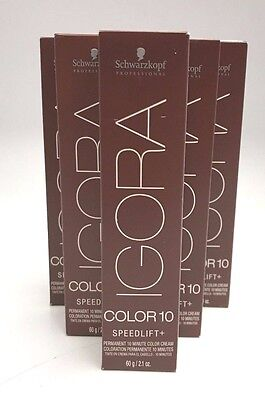 New Boxed Fresh  Schwarzkopf Igora Color10 Minutes Hair Color Pick Your Color