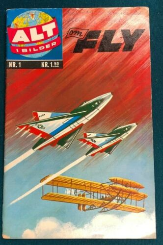 CLASSICS ILLUSTRATED #1 The Story of Flight (1951>) Norwegian edition HRN 82