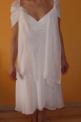 Abendkleid von Valérie inkl. Stola, Größe 38