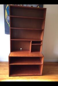 Real wood bookcase $40 obo
