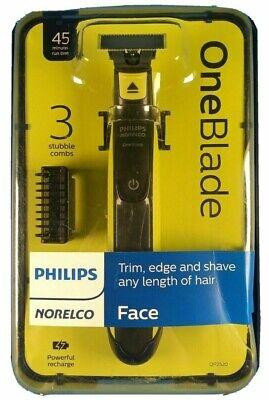 Philips Norelco Oneblade Hybrid Nass/Trocken Elektrisch Trimmer / Rasierer W /3