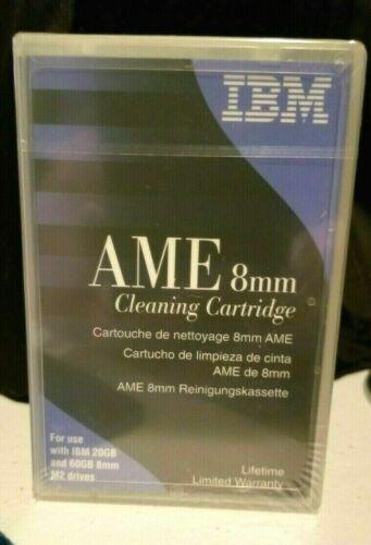 IBM 8MM VIDEO8 HI8 D8 DIGITAL8 DATA8 HEAD CLEANING CLEANER CLEAN TAPE NEW BIN