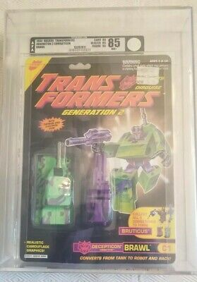 Transformers Generation 2 Brawl (Hasbro 1994) AFA 85 80/85/90