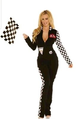 Elegant Moments Size Small Race Car Driver Nascar Halloween Roleplay - Nascar Racing Halloween Costumes