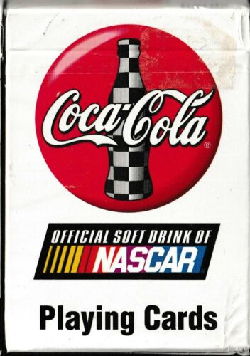 Coca Cola COKE NASCAR Poker Size Deck Playing Cards New Never Used