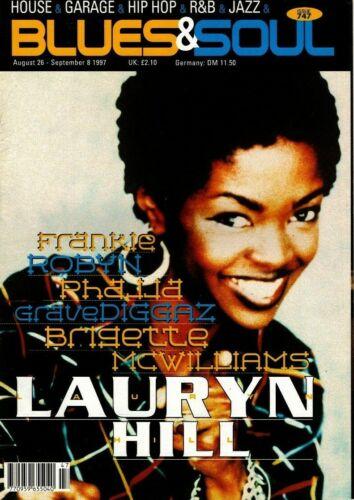 Blues & Soul Magazine 1997     Lauryn Hill     Gravediggaz     Phajja     Robyn