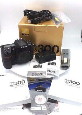 Nikon D300 camera body with extras! shutter count #87430 segunda mano  Embacar hacia Mexico