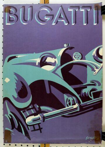 Bugatti by Gerold Hunziger ~ later repro