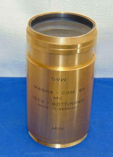 Vintage ISCO - OPTIC MAGNA - COM 65 LENSE GERMANY READ