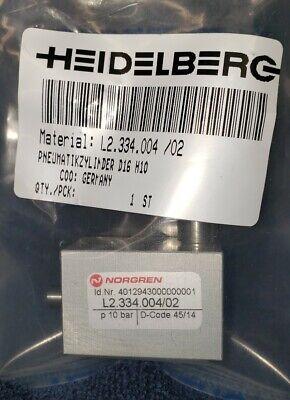 Heidelberg L2.334.00402 Cd74speedmaster Impression Cylinder Locking Air Piston