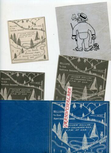 1935 VFW - Silver Dollar, Colorado 3rd Annual Birthday Party Invitation + Design