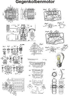 Die Funktionsweise des Gegenkolbenmotor 1441 Seiten